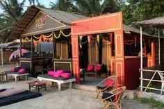 Jade Jagger Beach Boutique & 1971 Bar- Ashwem Beach, Goa.