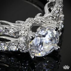 This Diamond Engagement Ring is from the Verragio Insignia Collection.