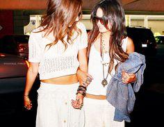 Ashley Tisdale and Vanessa Hudgens