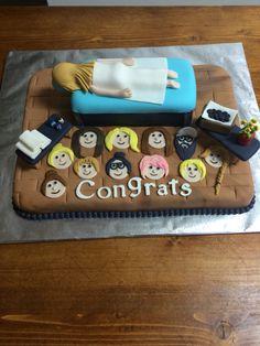 Massage Therapist graduation cake