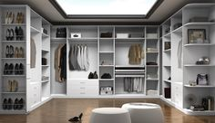 Divine walking closet designs you need to have. Thirty walking closet ideas for the perfect fashion wardrobe. Feed your design ideas now. Wardrobe Dresser, Wardrobe Furniture, Wardrobe Closet, Walk In Closet, Bedroom Closet Design, Closet Designs, Home Bedroom, Interior Design Living Room, Bedroom Decor