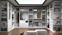 Ideas para planificar el vestidor