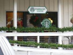 Starbucks Captiva -- Just outside South Seas Resort in Chadwick Square