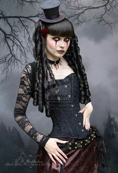 Gothic - cool makeup