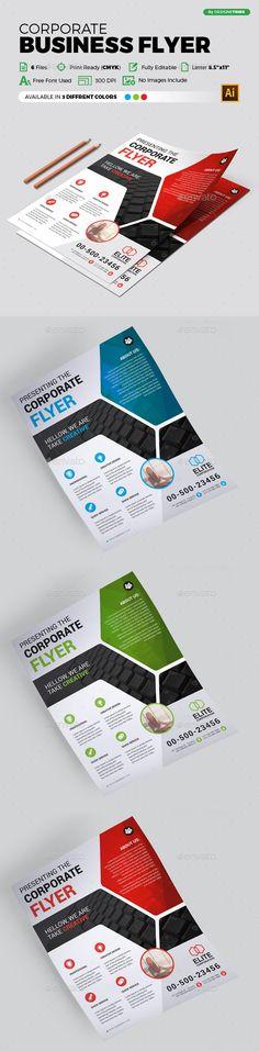 Multipurpose Flyer Template Vector EPS, AI Illustrator