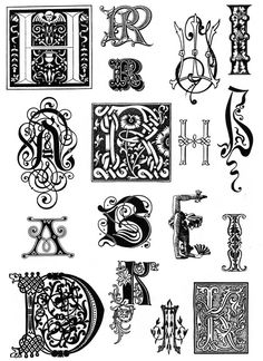 Love these letters! ...Brilliant