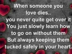 #when someone dies...