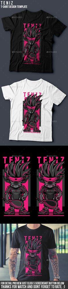 Teniz T-Shirt Design Download here: https://graphicriver.net/item/teniz-tshirt-design/19402014?ref=klitz
