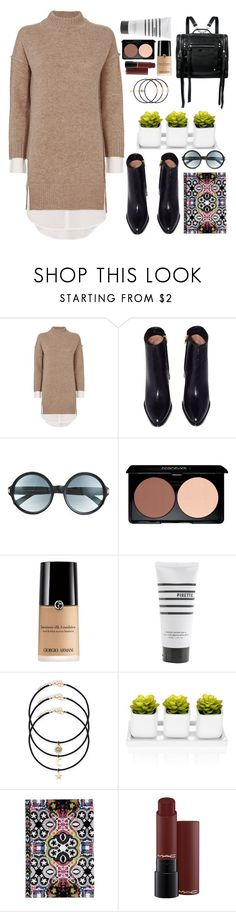 """Untitled #124"" by emelie-mely on Polyvore featuring Brochu Walker, Tom Ford, Pirette, Christian Lacroix and McQ by Alexander McQueen"