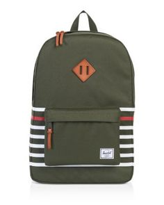 HERSCHEL SUPPLY CO. Heritage Backpack. #herschelsupplyco. #bags #lining #polyester #backpacks #cotton #