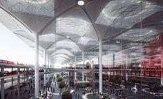 Istanbul krijgt 's werelds drukste terminal - PhotoID #291730 - architectenweb.nl