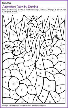 Jezus loopt op het water doolhof // Jesus walks on the