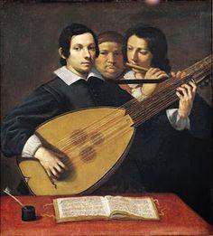 Ritratto del liutista Girolamo Valeriani (Ludovico Lana, ca. 1630)