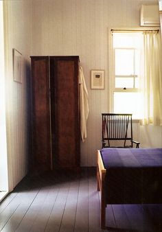 that armoire. the chair. the light.