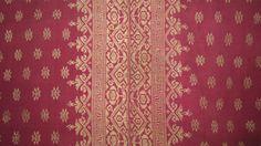 Balinese silk and songket sarong .