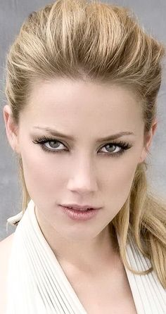 Awesome Most Beautiful Faces, Beautiful Celebrities, Beautiful Eyes, Beautiful Women, Girl Face, Woman Face, Amber Heard Hot, Amber Head, Pretty Face