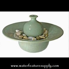 Come see us at https://www.waterfeaturesupply.com/waterwalls/tabletop-water-fountains.html for more information on these wonderful desktop waterfalls.    This specific desktop fountain is a great way to add peace and tranquility to even the bleakest indoor environments.
