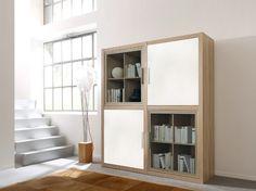 Como Shelving unit (Oak & White) -