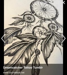dreamcatcher drawing - its neat, but too huge! Dream Catcher Drawing, Dream Catcher Tattoo Design, Dream Catcher Boho, Sunflower Tattoo Shoulder, Sunflower Tattoo Small, Sunflower Tattoo Design, Boho Tattoos, Body Art Tattoos, Sleeve Tattoos