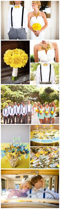 #yellow theme wedding photos