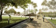 Primer Lugar Concurso Público para la Recuperación Parque Grancolombia