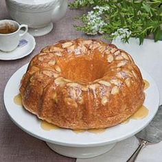 Amaretto-Almond Pound Cake Recipe | MyRecipes.com