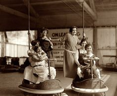 1924. Montgomery County, Maryland. Elks Outing, Glen Echo. #1920s #20s #vintage #dodgems #car #funfair #carnival