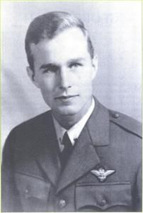 George H. Bush, following the attack on Pearl Harbor in 1941, Bush postponed going to college, enlisted in the U.S. Navy on his 18th birthday, and became the youngest aviator in the U.S. Navy at the time. He served until the end of the war, then attended Yale University. Graduating in 1948