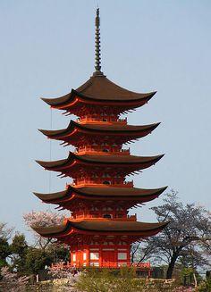 Goju-no-to Pagoda, Miyajima