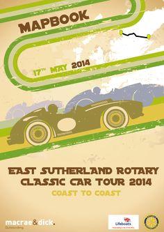 Rotary Charity Car rally Branding