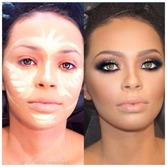 #contouring #highlight #transformation