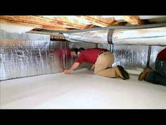 Crawl Space Encapsulation, Foundation Repair, and Basement Waterproofing commercial Crawl Space Insulation, Home Insulation, Foundation Repair, House Foundation, Crawl Space Foundation, Basement Waterproofing Paint, Wet Basement, Basement Flooring, Crawl Space Encapsulation