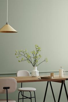 Comfy pastel dining room design ideas 00024 ~ Home Decoration Inspiration Room Interior Design, Dining Room Design, Design Room, Design Design, Design Trends, Green Dining Room, Design Ideas, Slow Design, Scandinavian Interior