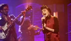 "Update: Making her debut on the show, Yuna performed ""Used To Love You"" on Monday's ""Late Night With Seth Meyers."" A video of the performance and photos fr"