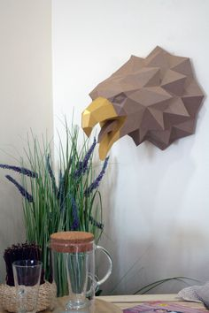 #eagle #papercraft #paper #lowpoly #design #decor #animal #bird #paperhead Perfect Image, Perfect Photo, Love Photos, Cool Pictures, Interior Design Living Room, Thats Not My, Eagle, Bird, Animal