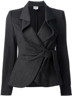 ARMANI COLLEZIONI Knotted Skirt Suit