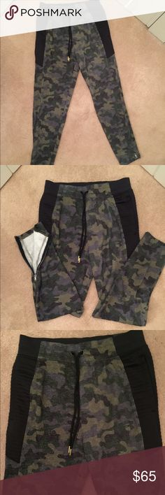 🆕 Under Armour camouflage sweatpants Under Armour camouflage joggers. NWT Drawstring waist Tapered leg with zip ankles mesh lined pockets with quilted side panels never been worn Under Armour Pants Sweatpants & Joggers