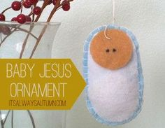 Little Baby Jesus Ornament