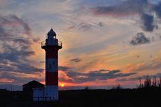Sunset and lighthouse by Yoshitsugu SHIMOTORI on 500px