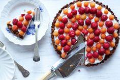 será que este é o bolo mais fácil de sempre? tarte de iogurte grego e frutos vermelhos sem açúcar | casal mistério | Bloglovin'