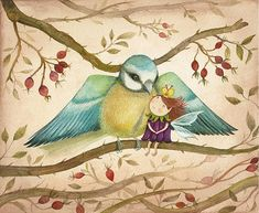 Safe Haven Giclee Print Romantic and Soft