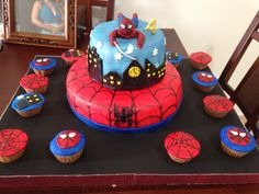 Torta de Spiderman