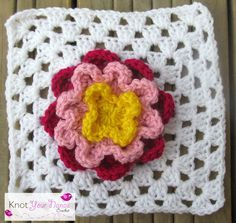 Knot Your Nana's Crochet: Granny Square Crochet Along Revisited (Week Thirty Three)