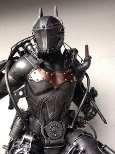 Steampunk Batman sculpture by Ram Mallari Jr. More about batman here.