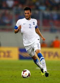 Andreas Samaris Photos - Andreas Samaris of Greece in action during the  group G FIFA 2014 World Cup Qualifier match between Greece and  Liechtenstein at ... 812baba4a79