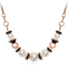 Iuha Gorgeous Large Fashion Pearl Strand Bead Chain Necklace/Accessories Gift/Hypoallergenic13' * Click on the image for additional details. (This is an affiliate link and I receive a commission for the sales)