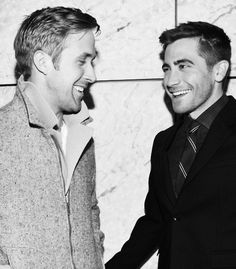 my top two shiver-inducing celeb crushes in one photo?  yes.  please.