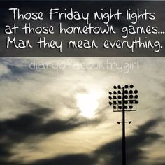 There is nothing quite like football under the Friday night lights! Friday Night Football, High School Football, Football Pics, Football Images, Football Program, Football Fever, Football Banquet, Youth Football, Football Baby