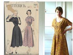Update on vintage dress pattern