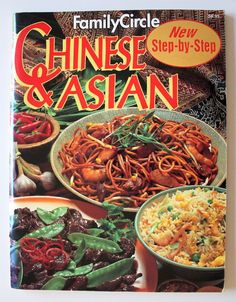 Chinese & Asian Cookbook 1993 Family Circle Indian Step By Step…